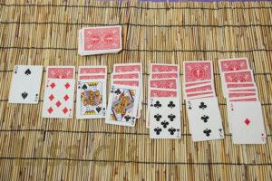 gratis spil. Free games and rules for 7 kabale, mahjong, hjerterfri and more.