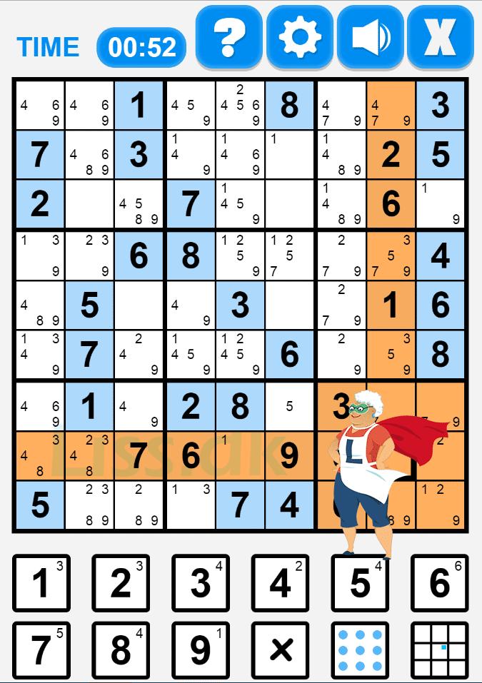 Gratis Sudoku spil online hos Liss