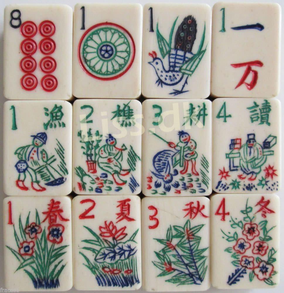 Mahjong brikker til gratis mahjong spil