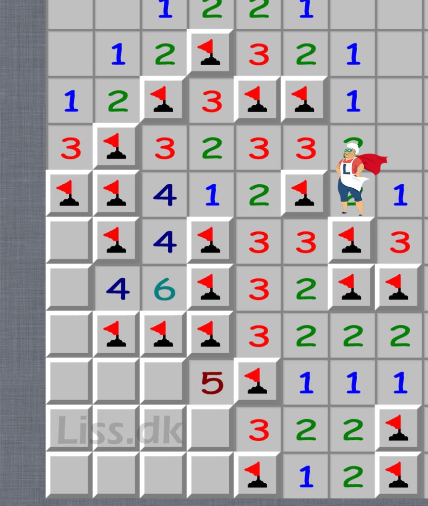 minestryger spil med mange miner