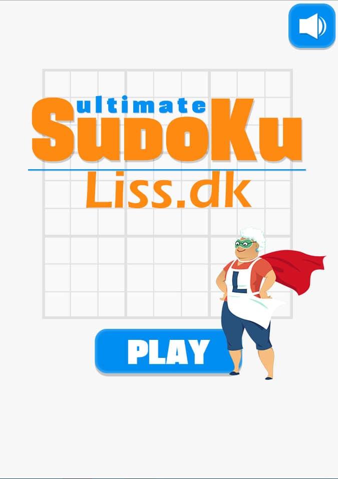 Spil Gratis Sudoku hos mig på computeren.