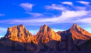 Tripeaks kabale er måske opkaldt efter dette bjerg